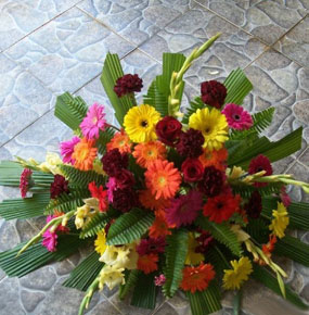 Array of Colours Posy