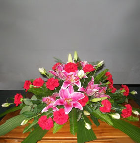 Pink Petals Table Posy